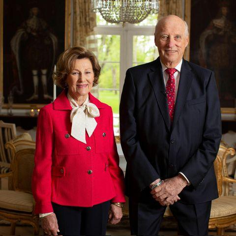 Königin Sonja und König Harald