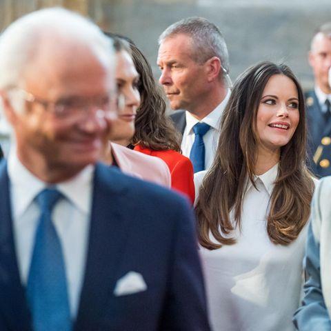 König Carl Gustaf und Prinzessin Sofia