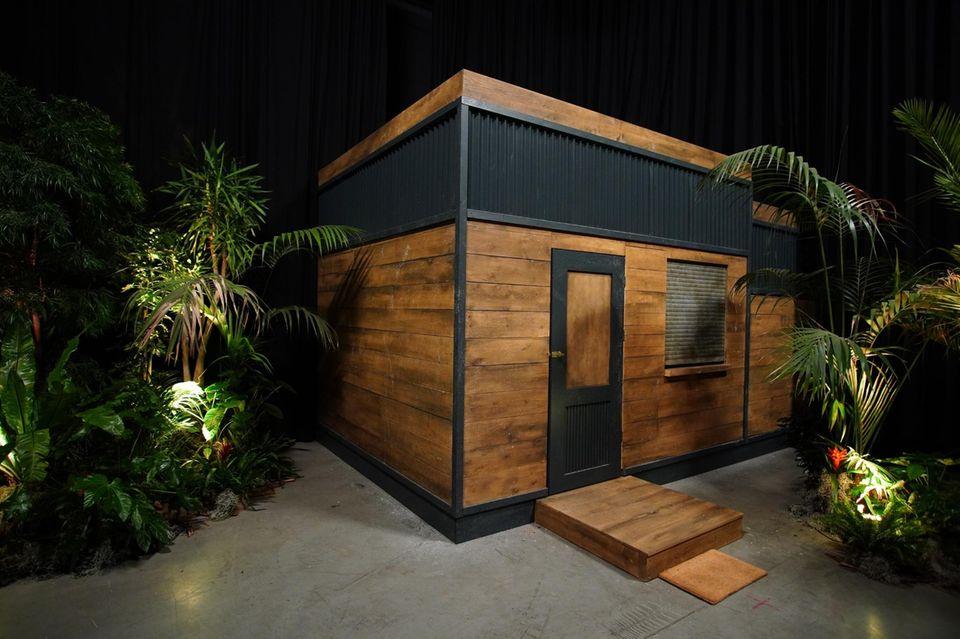 """Das Tiny House bei """"Ich bin ein Star - Die große Dschungelshow"""""""