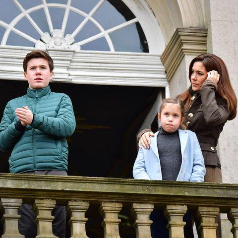 Prinz Christian, Prinzessin Josephine und Prinzessin Mary