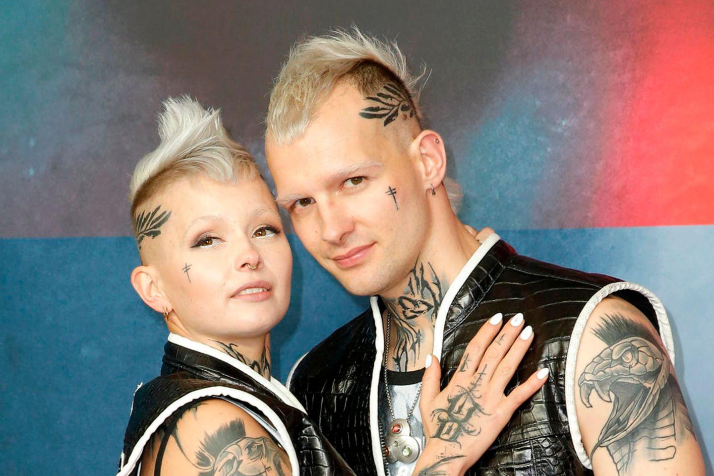 Eric Stehfest mit Ehefrau Edith