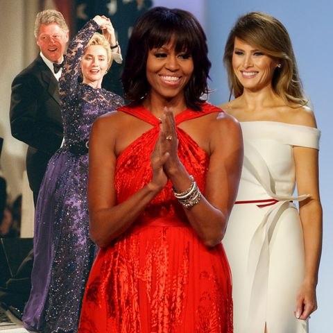 Hillary Clinton, Michelle Obama + Melania Trump