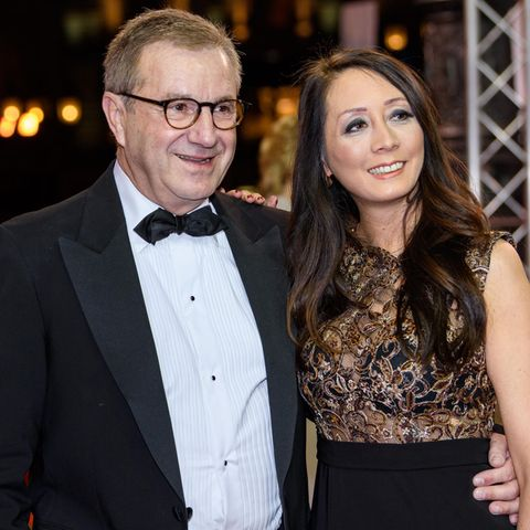 Jan Hofer mit Ehefrau Phong Lan