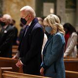 20. Januar 2021  Der große Tag für Joe und Jill Biden ist gekommen! Heute treten sie die Nachfolge von Donald und Melania Trump im Weißen Haus an. Gegen 9 Uhr Ortszeit besucht das Ehepaar zunächstdie Kirche St. Matthews.