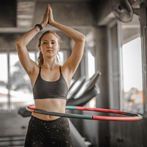 Hula Hoop Fitness: Mit Hullern zur schmalen Taille