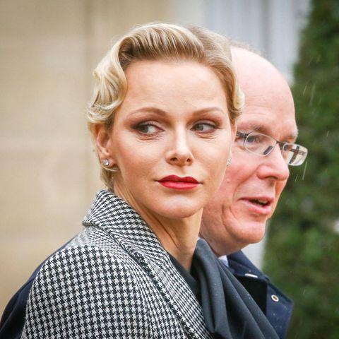 Fürstin Charlène von Monaco und Fürst Albert II. von Monaco