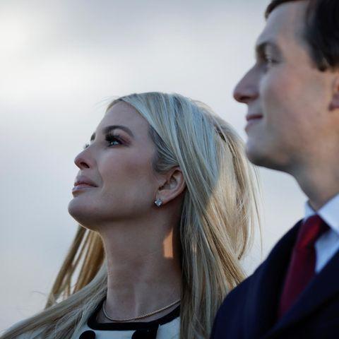 """Ivanka Trump kann ihre Gefühle am 20. Januar 2021 nicht zurückhalten. Es ist ihr letzter Tag als """"First Daughter"""" Amerikas."""