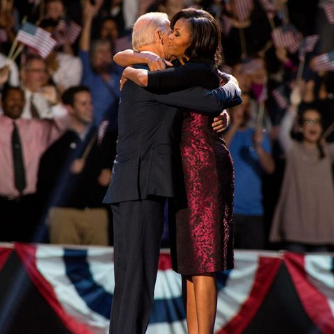 Joe Biden und Michelle Obama