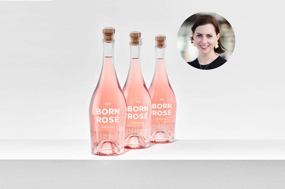 Man muss die Feste feiern, wie sie fallen, findet Lifestyle-Redakteurin Kathrin. Der Born Rosé Brut ist dafür die perfekte Wahl.