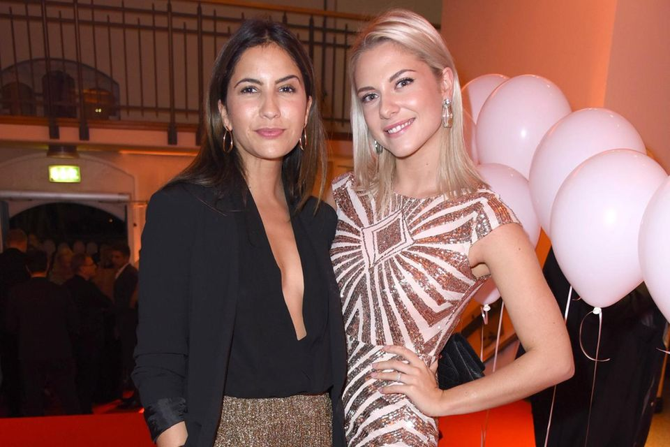 Chryssanthi Kavazi und Valentina Pahde