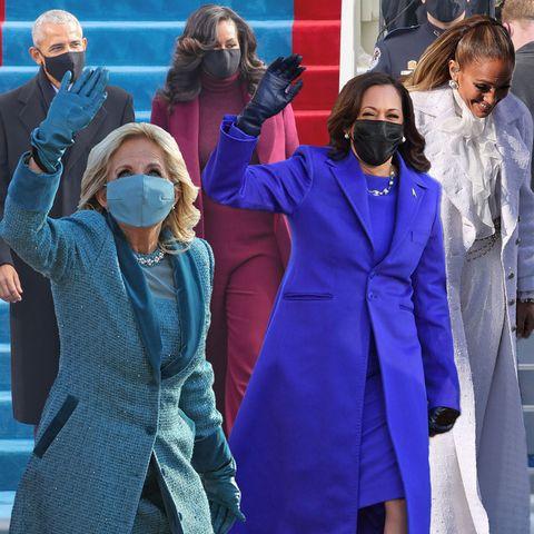 Amtseinführung 2021 in den USA: Die schönsten Looks der Vereidigung