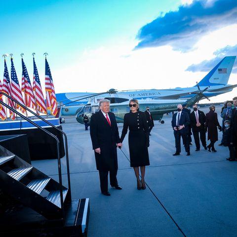 Donald undMelania Trump