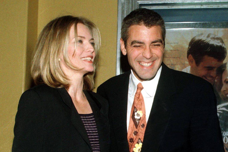 Michelle Pfeiffer und George Clooney