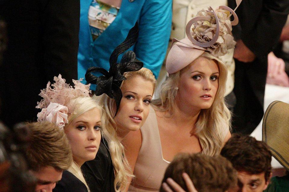 Lady Eliza, Lady Amelia, Lady Kitty Spencer