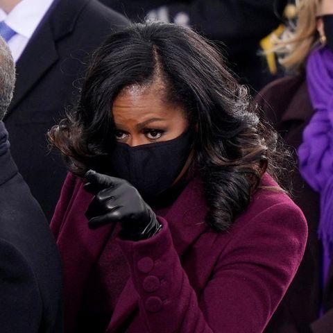 Michelle Obama hat ihrem Mann etwas zu sagen.