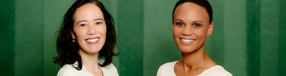 Dr. med. Andrea Wolff (l.) und Dr. med. Isabel Edusei.