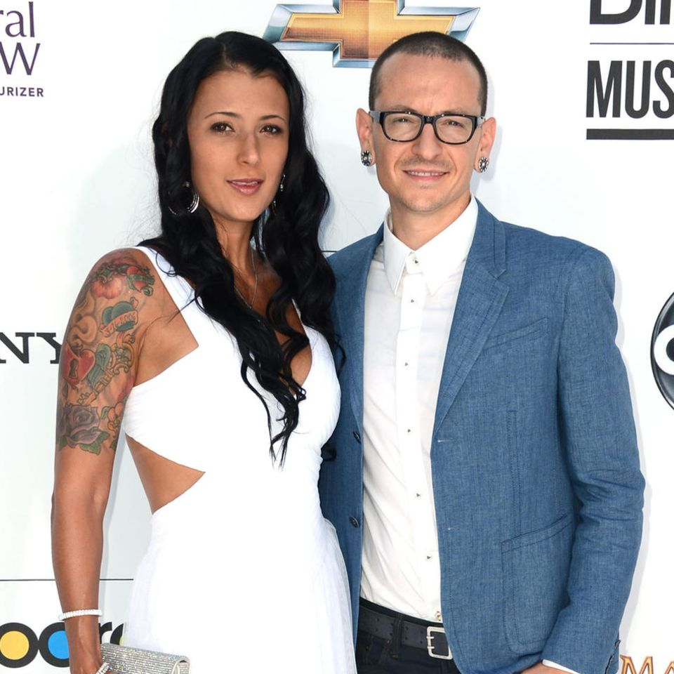 Talinda und Chester Bennington (†) 2012 bei den Billboard Music Awards