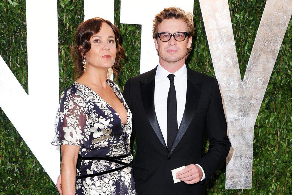 Rebecca Rigg und Simon Baker
