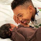 21. Januar 2021  Titan Jewell, geboren 2014, ist jetzt ein großer Bruder: Kelly Rowland verkündete mit diesem süßen Schnappschuss die Geburt ihres zweiten Sohnes Noah Jon Weatherspoon, bei der Geburt 48 cm groß und 3500 Gramm schwer. Wir gratulieren!