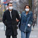 13. Januar 2021  Eingehakt machenEmilio Vitolo Jr. undKatie Holmes die Spaziergänge durch Manhattan noch mehr Spaß.