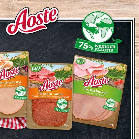 Gewinnspiel: Frühstück für Genießer: Aoste Aufschnitt – lecker und nachhaltig verpackt!