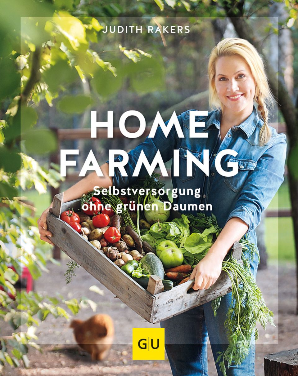 """Mit ihrem Buch macht Judith Rakers Lust auf """"Home Farming""""."""