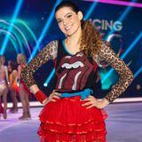 """2019 nimmt Klaudia Giez an der zweiten Staffel """"Dancing on Ice"""" teil. Auch hier kann sie wieder mit ihrer erfrischenden Art punkten."""