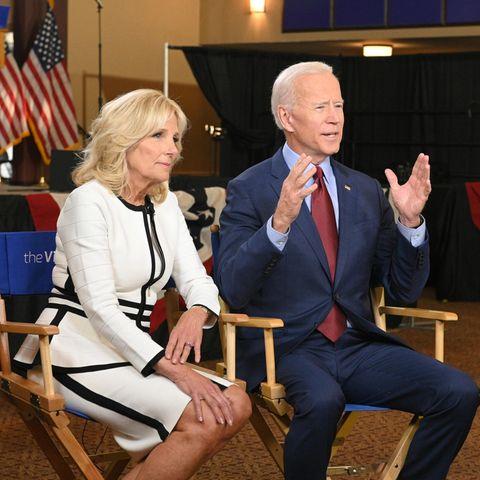 Jill Biden und Joe Biden