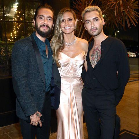Tom Kaulitz, Heidi Klum und Bill Kaulitz
