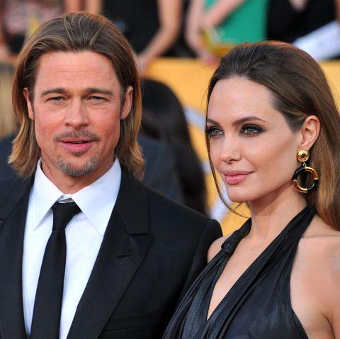 Brad Pitt + Angelina Jolie