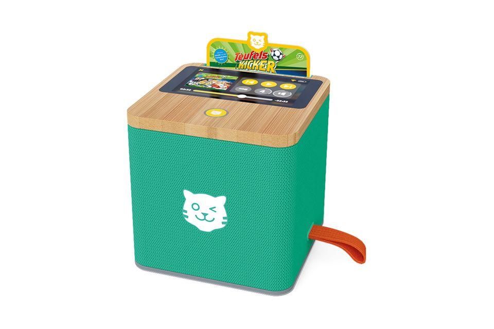 Die Tigerbox (ca. 99 Euro) versammelt alte und neue Helden auf einem smarten, kindgerechten Gerät. Über 6.000 Hörspiele stehen zur Verfügung.