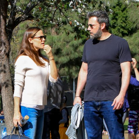 Jennifer Garer und Ben Affleck