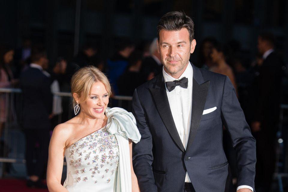 Kylie Minogue und Paul Solomons