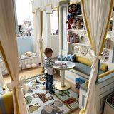 Leo, der kleine Sohn von Mega-Influencerin Chiara Ferragni, hat ein komplett neues Kinderzimmer bekommen.