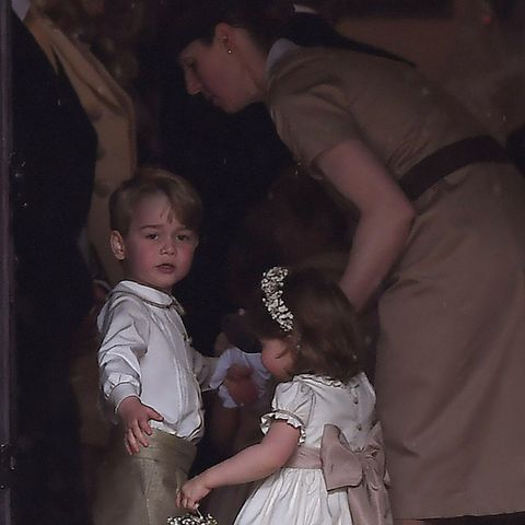 Prinz George, Prinzessin Charlotte undMaria Borrallo