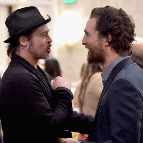Brad Pitt und Matthew McConaughey