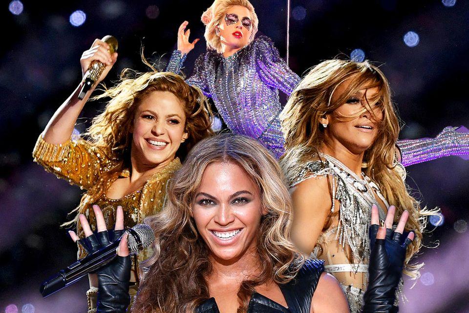 Super Bowl im Rückblick: Die besten und schrägsten Looks der Halbzeitshows