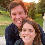 """24. April 2020  Den zehnten Jahrestag ihrer Beziehung feiern Prinzessin Eugenie und Jack Brooksbank mit diesen strahlenden Schnappschüssen auf Instagram. """"Wir sind so glücklich darüber, in diesen schweren Zeiten zusammen sein zu können ."""""""