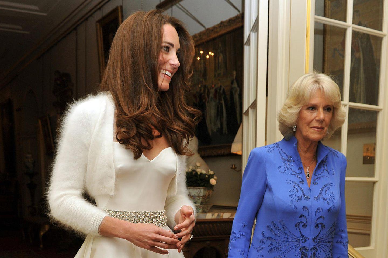 Das zweite Brautkleid von Herzogin Catherine bekam wesentlich weniger Aufmerksamkeit - ist jedoch wunderschön!