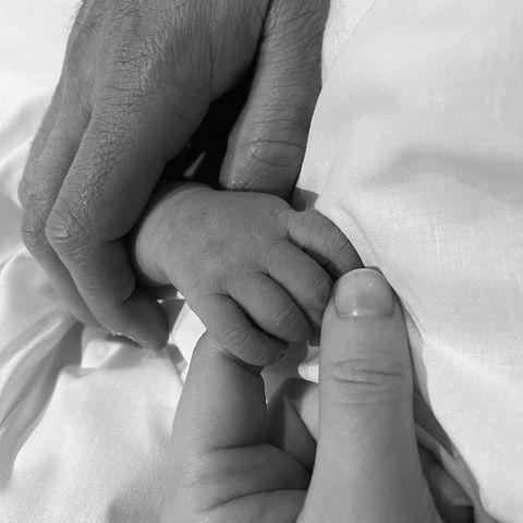 Prinzessin Eugenie und Jack Brooksbanks Foto von ihrem Neugeborenen
