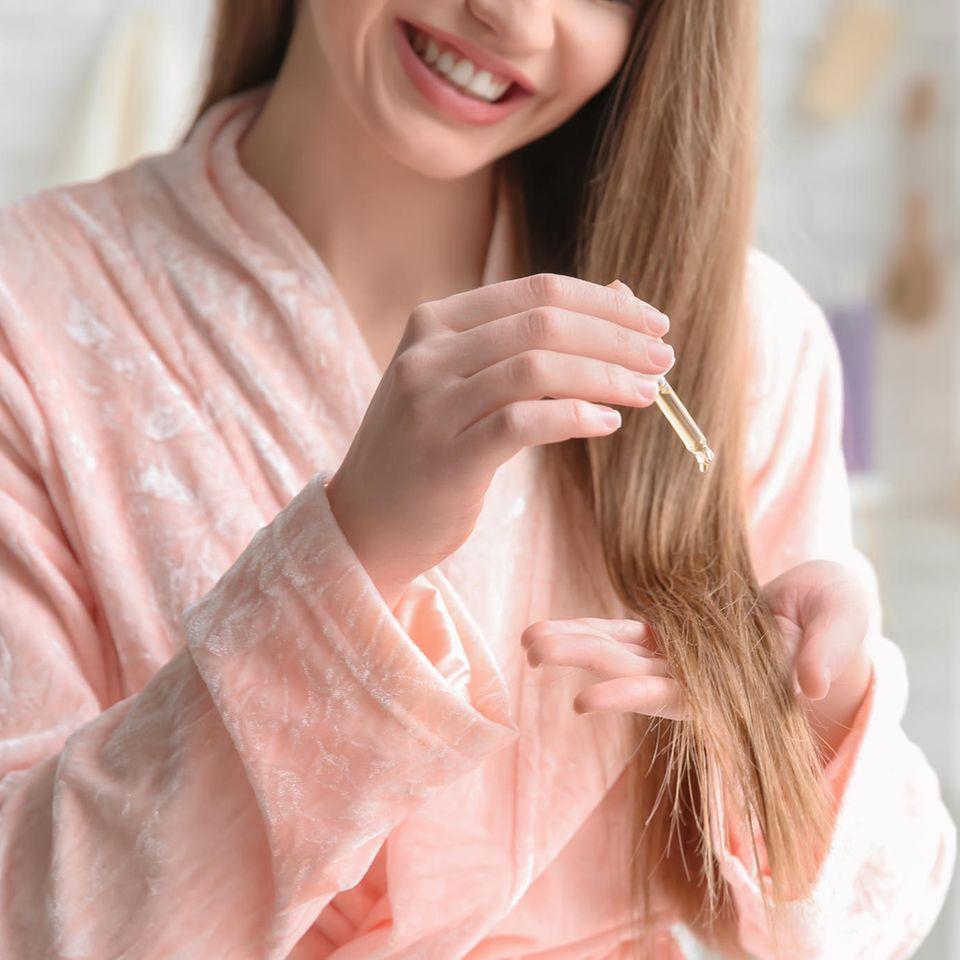 Haaröle : Konkurrenz für Conditioner und Co.