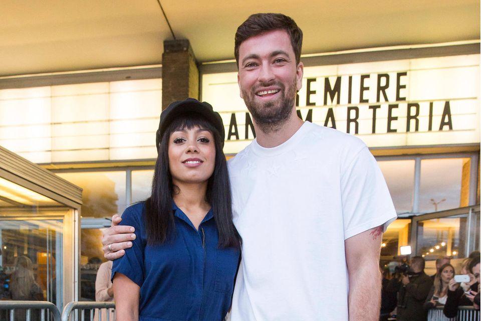Rapper Marteria mit Ehefrau Jadu