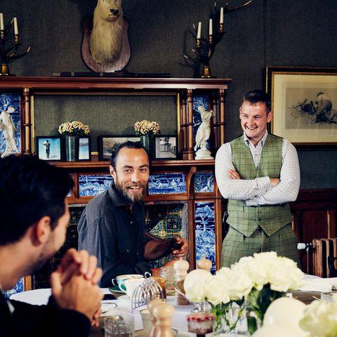 Luxus trifft Gastlichkeit: Im Glen Affic Estate werden die täglichen Mahlzeiten zu einem ebenso stilsicheren wie unterhaltsamen Erlebnis.