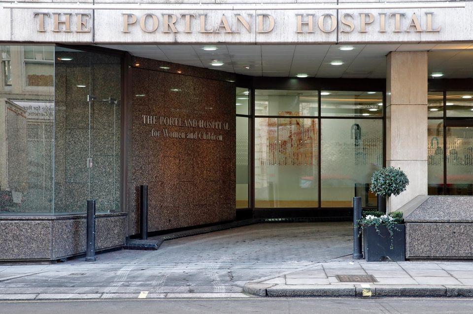 Das Portland Hospital in London