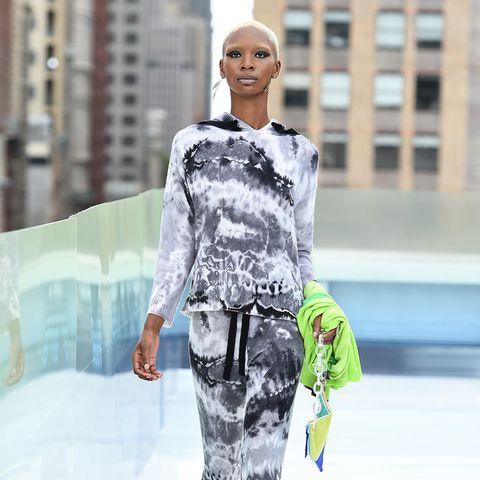 Batiken: Der DIY-Modetrend hält an, Model, Laufsteg, New York City
