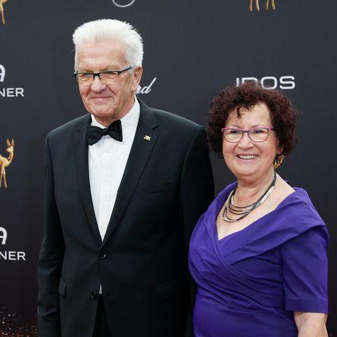 Winfried Kretschmann und Gerlinde Kretschmann