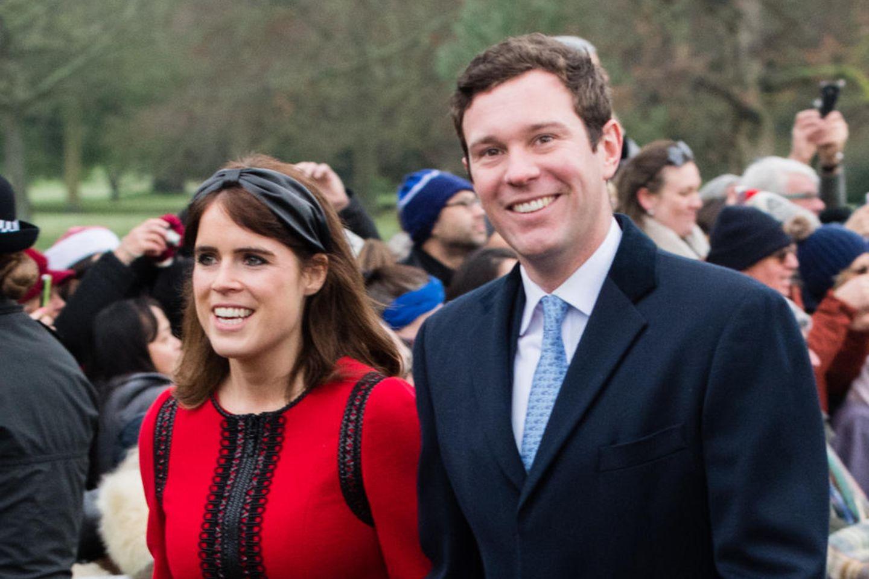 Prinzessin Eugenie undJack Brooksbank