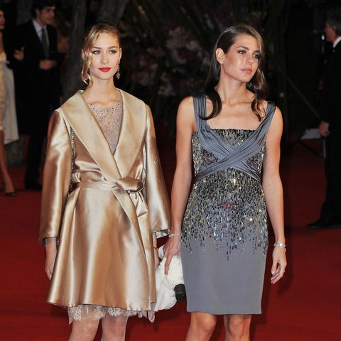Beatrice Borromeo + Charlotte Casiraghi