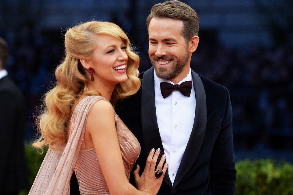 Blake Lively + Ryan Reynolds