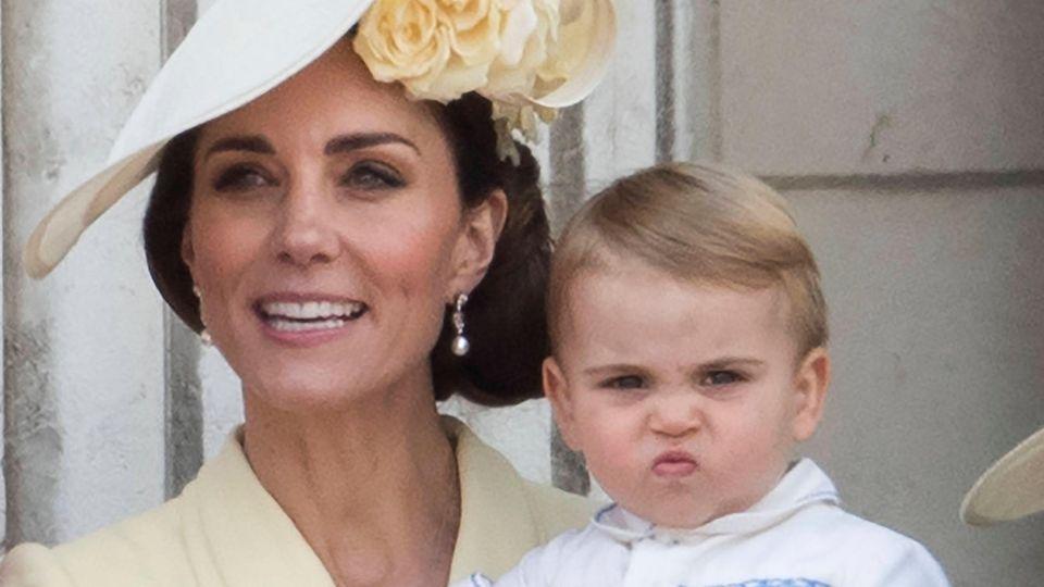 Herzogin Catherine mit Prinz Louis